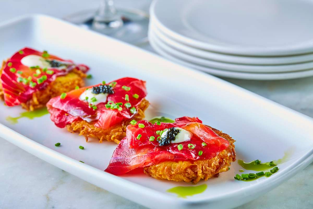 Red Beet Cured Pacific Salmon