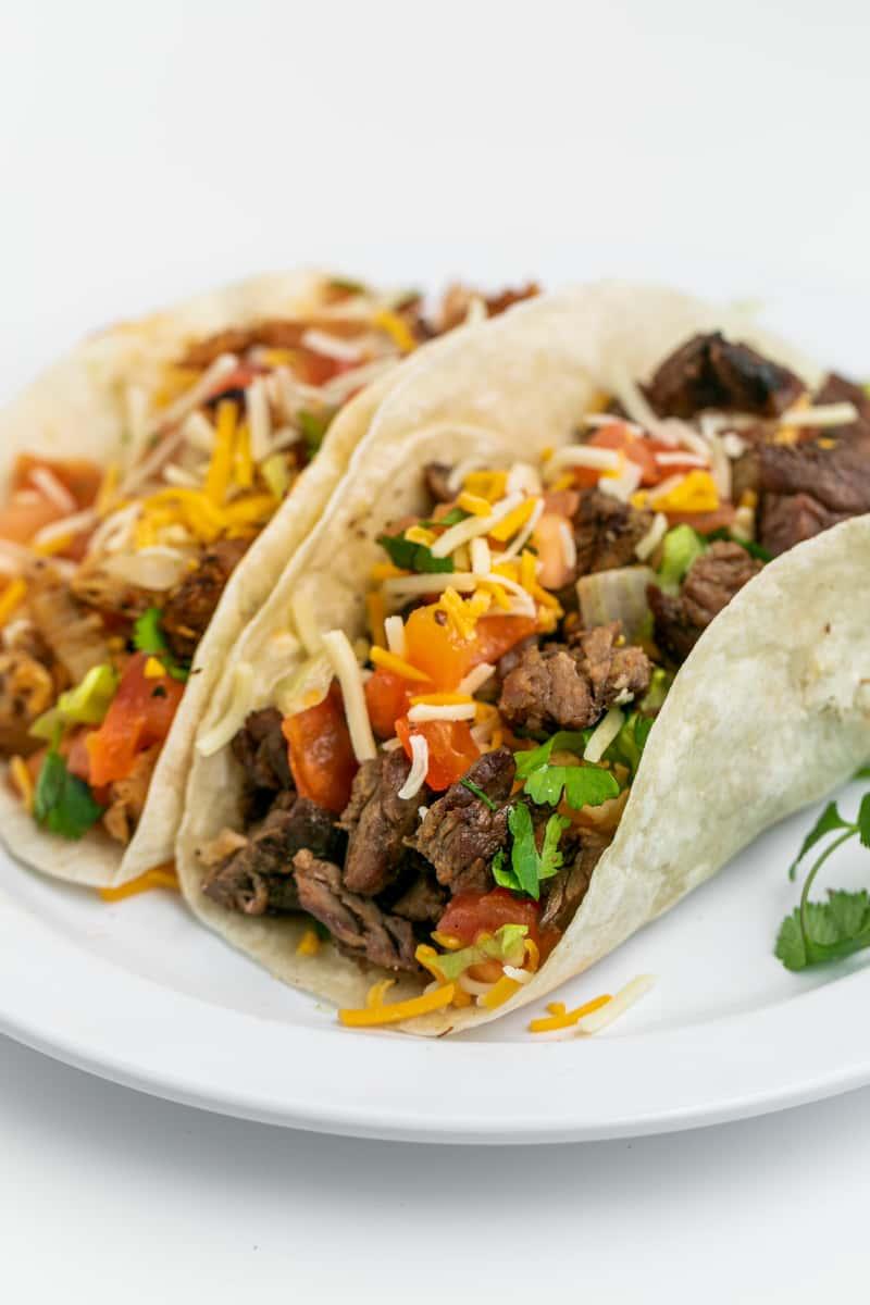 2 Soft Tacos