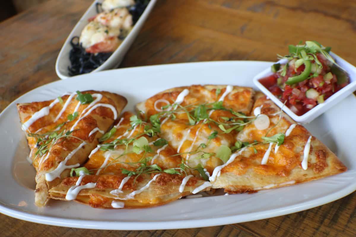 Chicken, Brisket or Mushroom Quesadilla