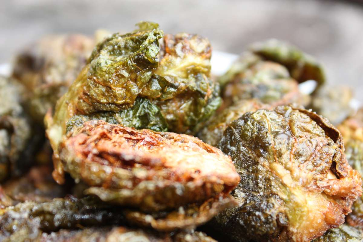 Crispy Salt & Vinegar Brussels Sprouts