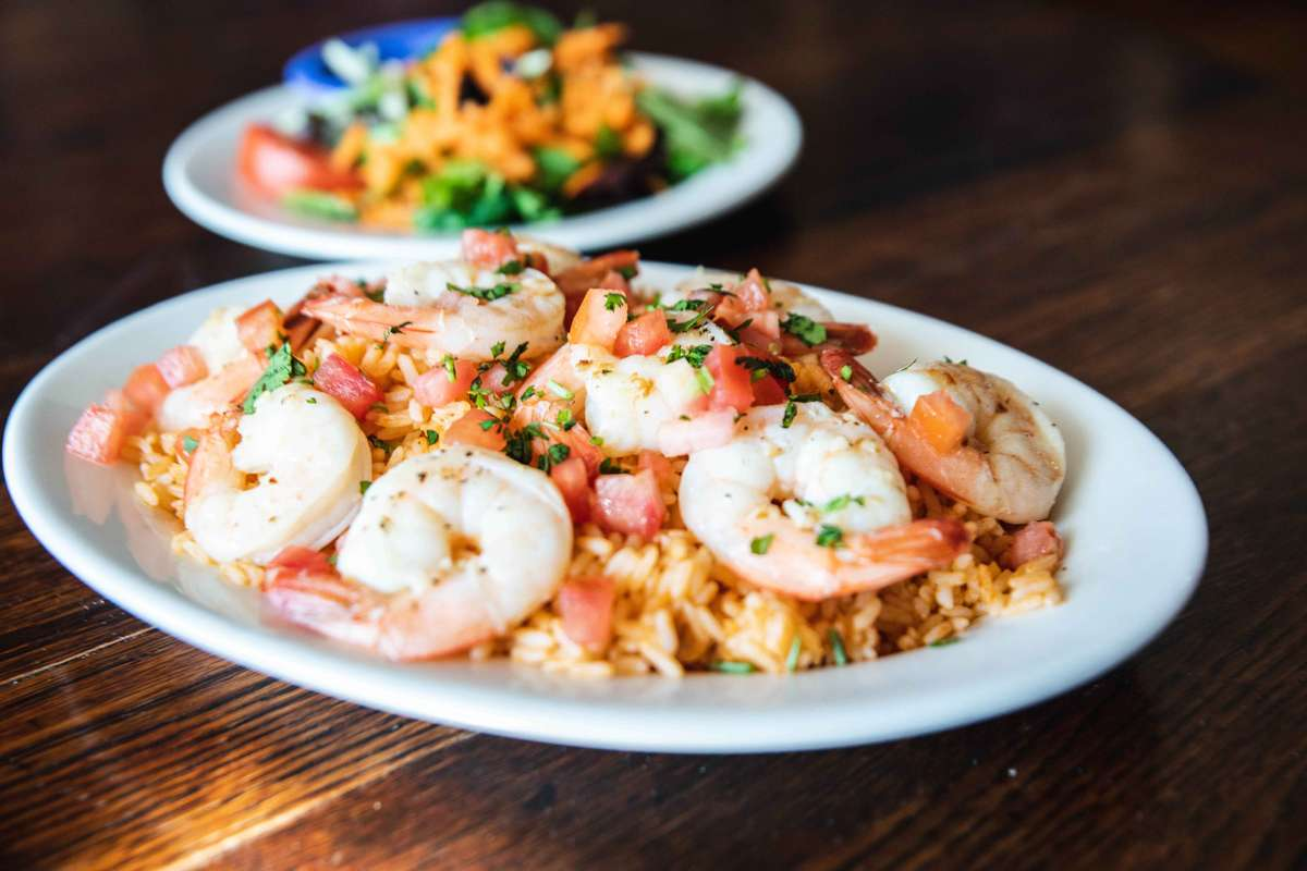 Camarones Mojo Shrimp