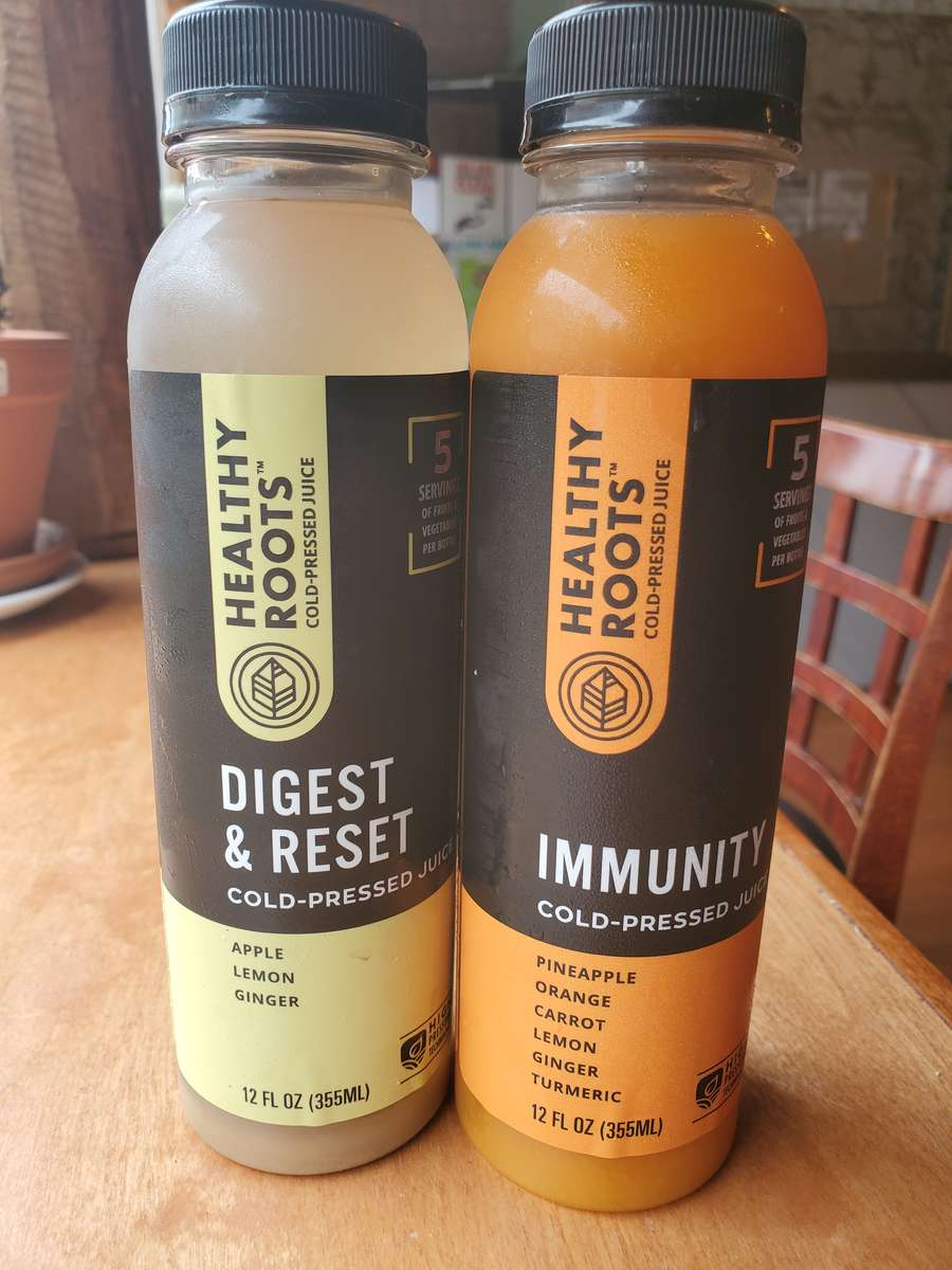 Healthy Roots Cold Pressed Juice