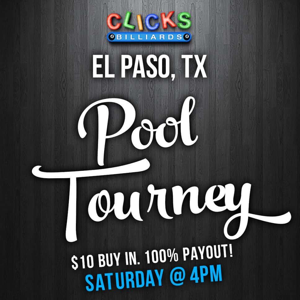 Saturday Pool Tourney