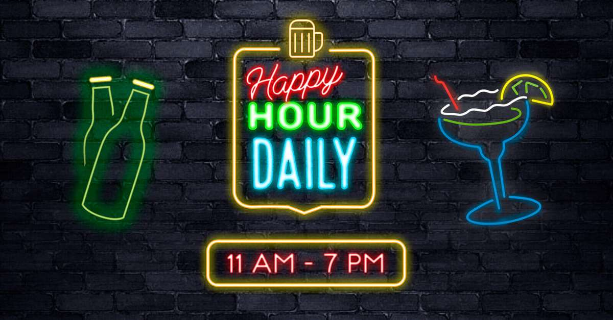 Happy Hour Daily