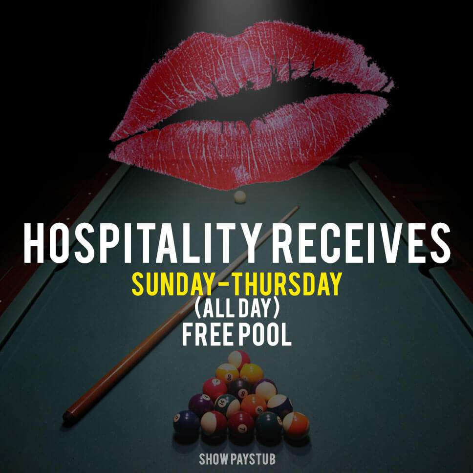 Hospitality Industry Appreciation
