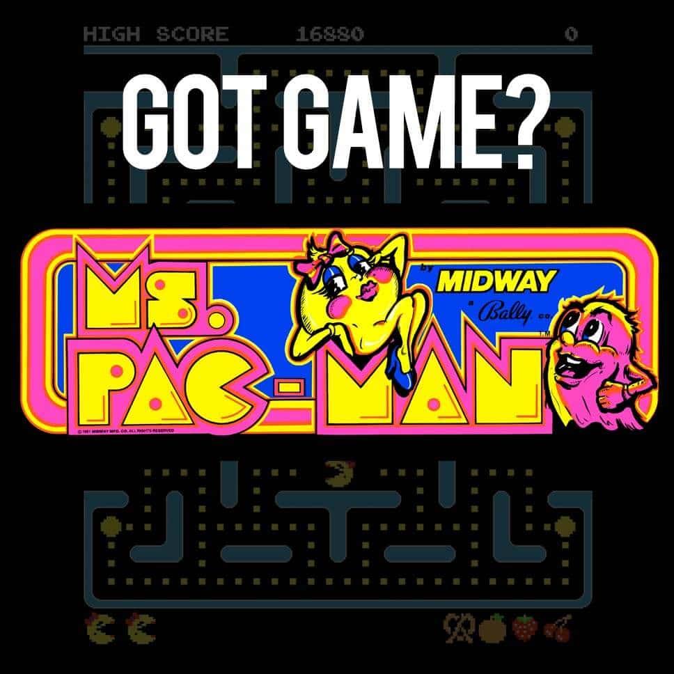 Ms. Pac-Man Logo