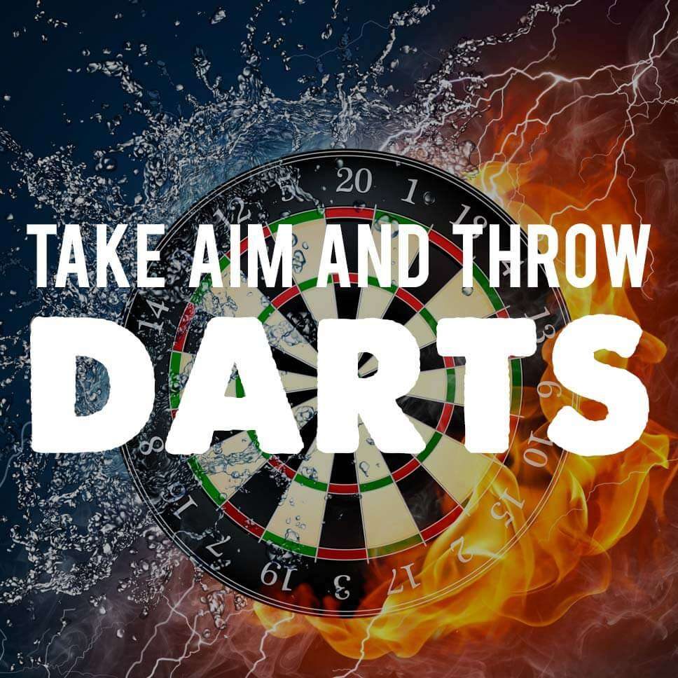 Take Aim and Throw Darts