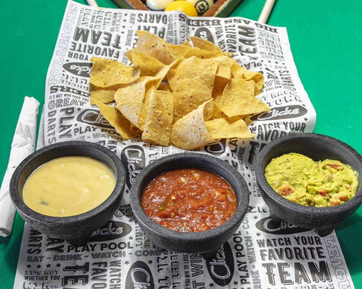 House Made Chips and Dips