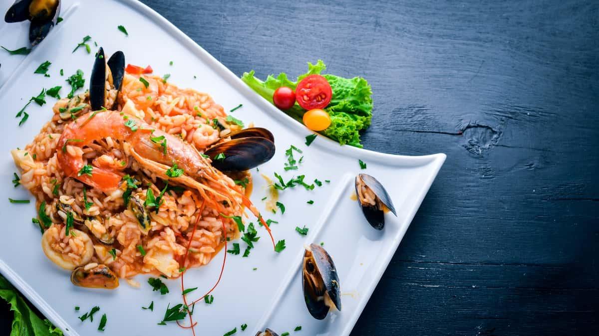 Shrimp Risotto