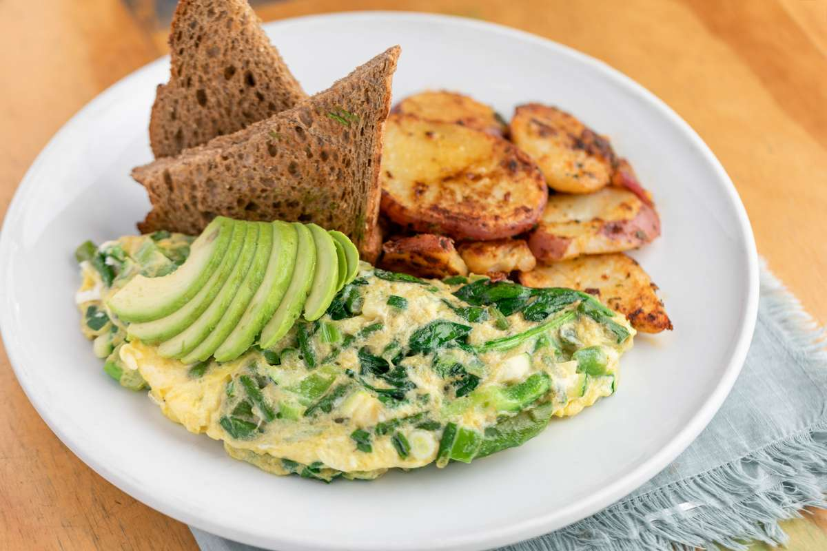 The Green Omelet