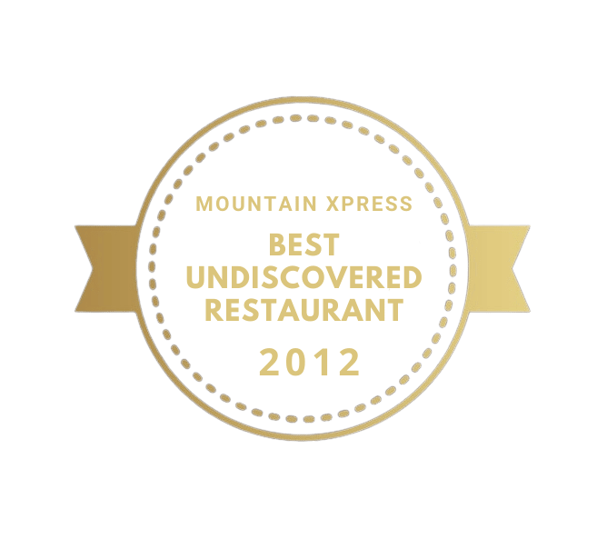 Best Undiscovered Restaurant Award