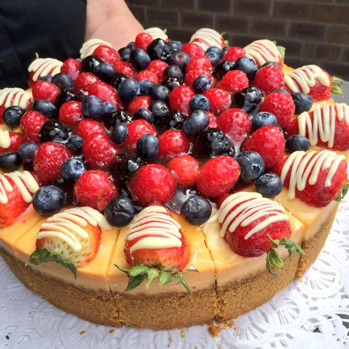 Cherry Berry Cheesecake