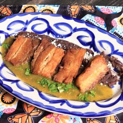 Pork Belly in Salsa Verde
