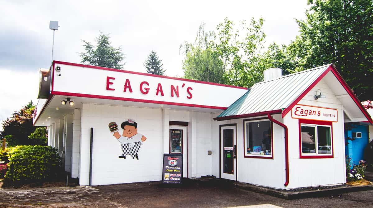 eagan's exterior