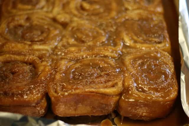 Homemade Caramel Roll