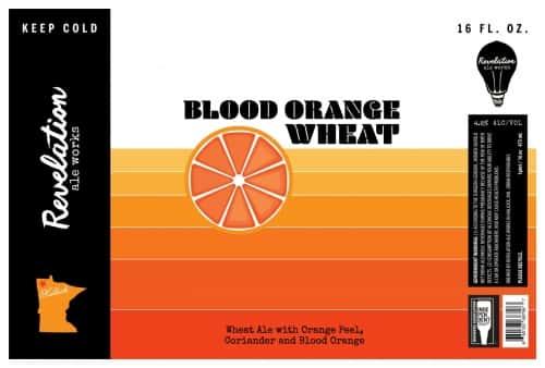 Revelation Ale Works Blood Orange Wheat