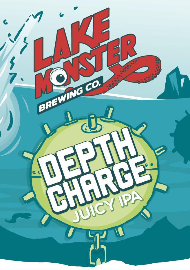 Lake Monster, Depth Charge IPA