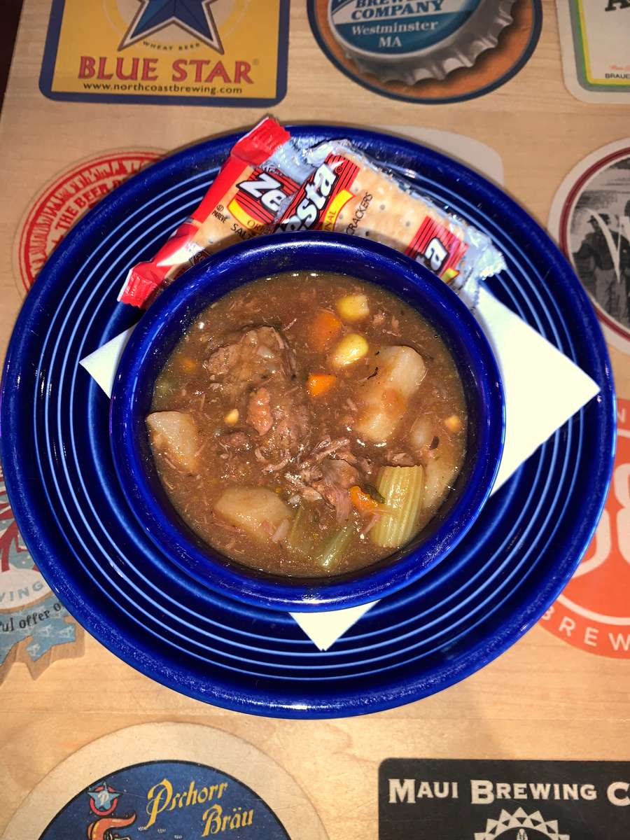 Soup of the Day: Vegetable Beef