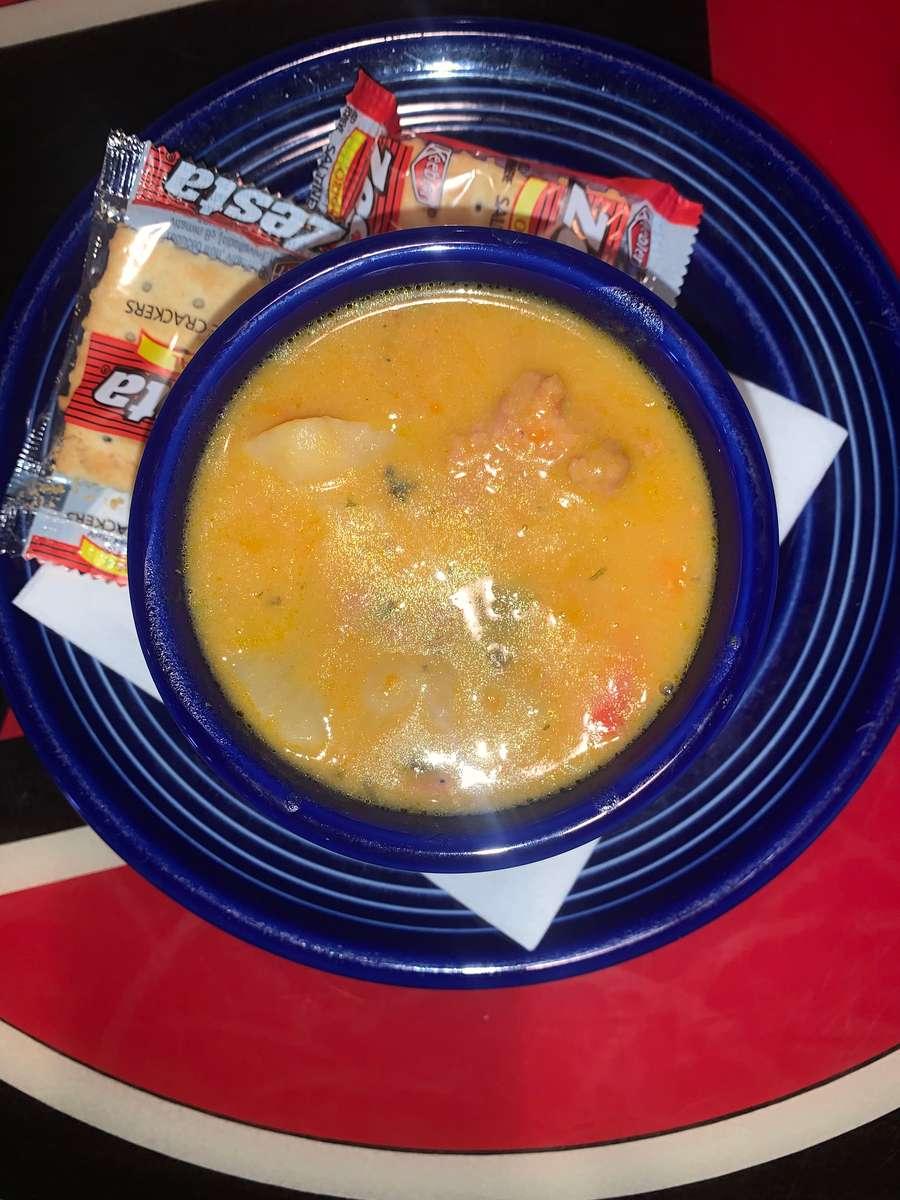 Soup of the Day: Cheesy Sausage & Potato