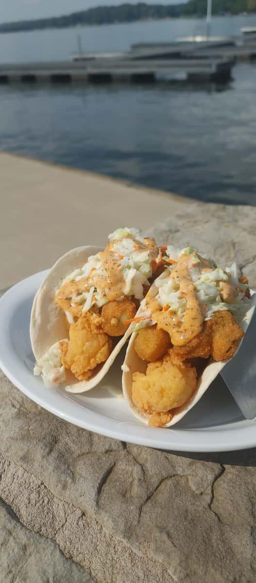 Shrimp Po Boy Taco
