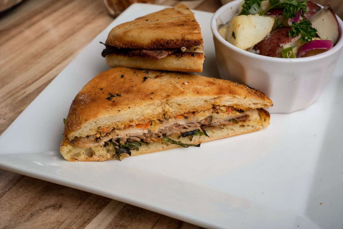 Grilled Ham and Cheese Panini