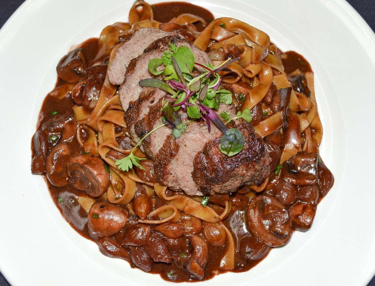 Churrasco (Sirloin Steak) Malbec Pasta Combo Meal