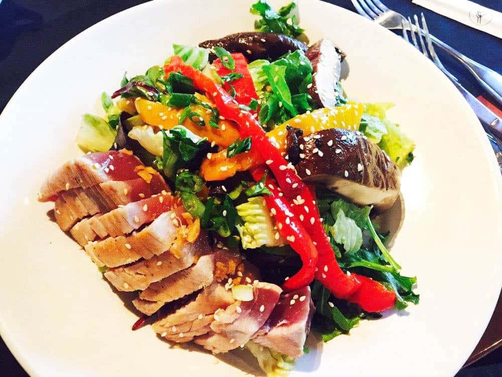 *Seared Ahi Salad