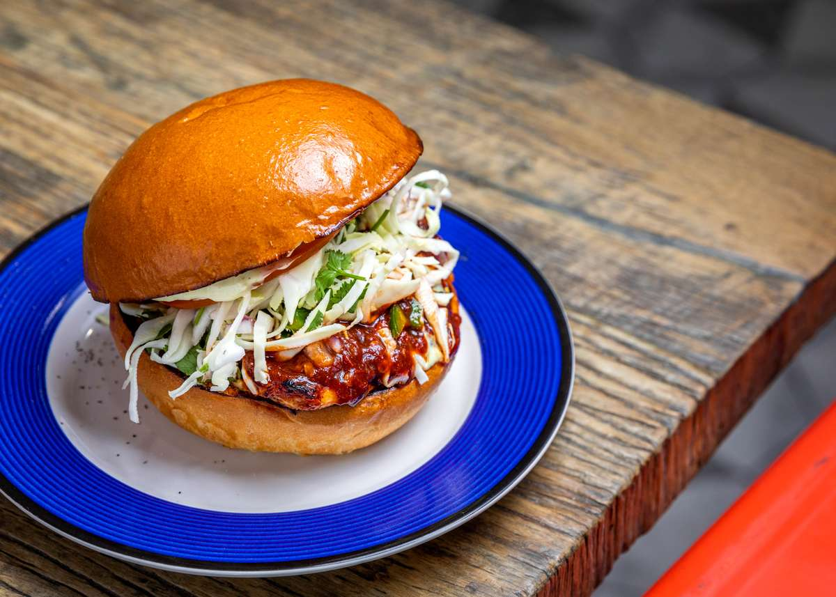 Grilled Baja Bird Sandwich