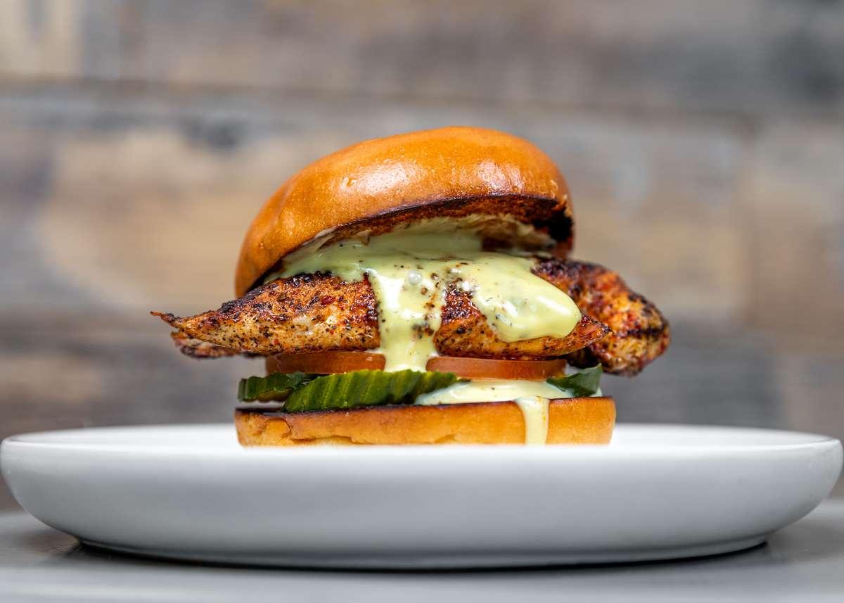 Grilled Honey Bird Sandwich