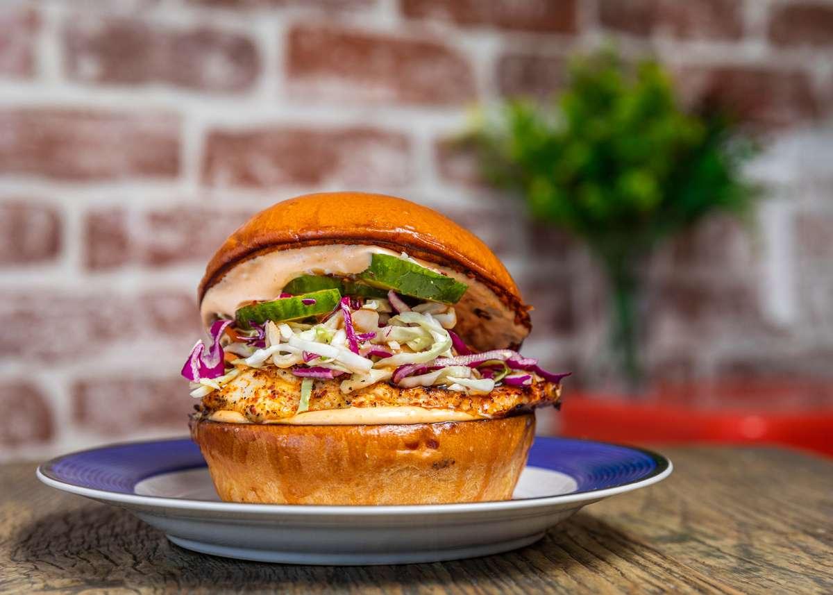 Grilled Wok Bird Sandwich