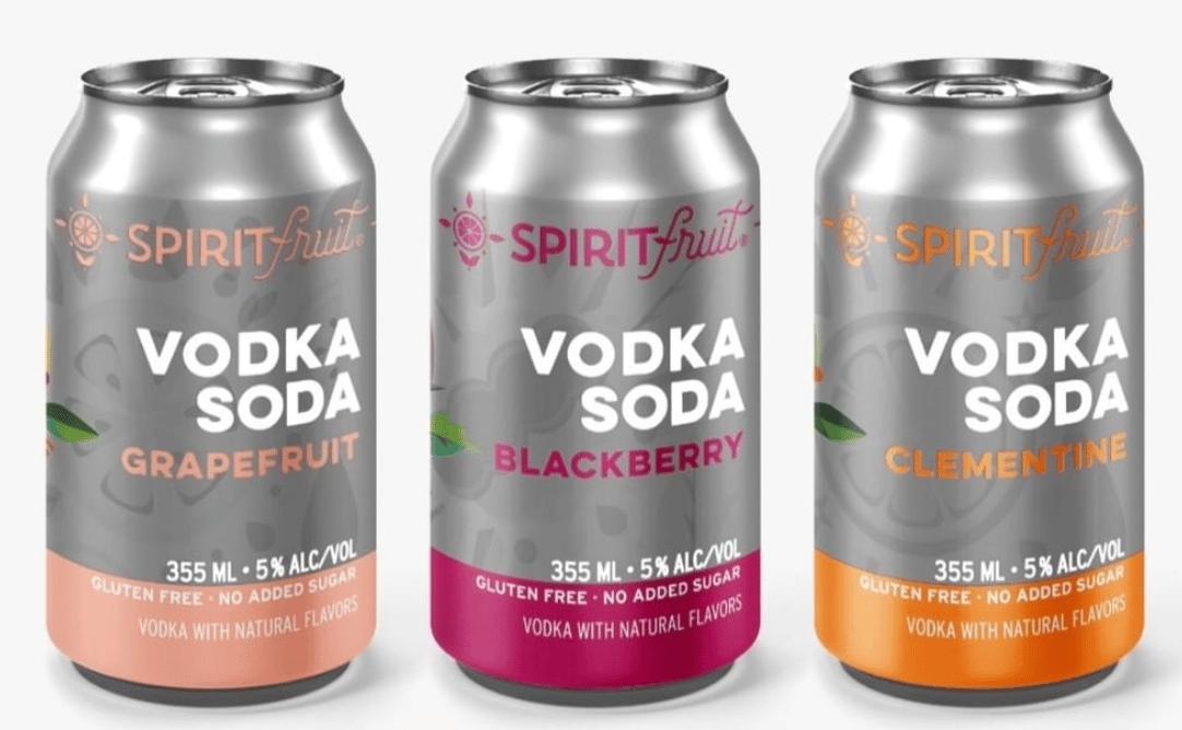 Spirit Fruit's Vodka Soda