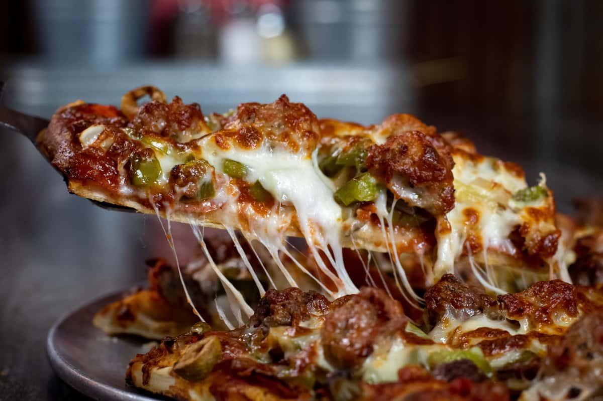 slice of pizza pub pizza