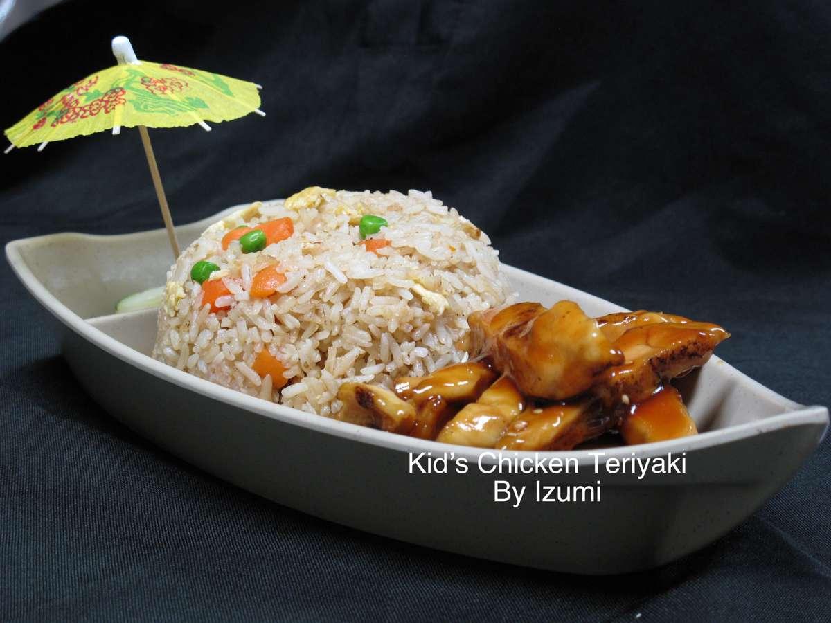 kid's Chicken Teriyaki