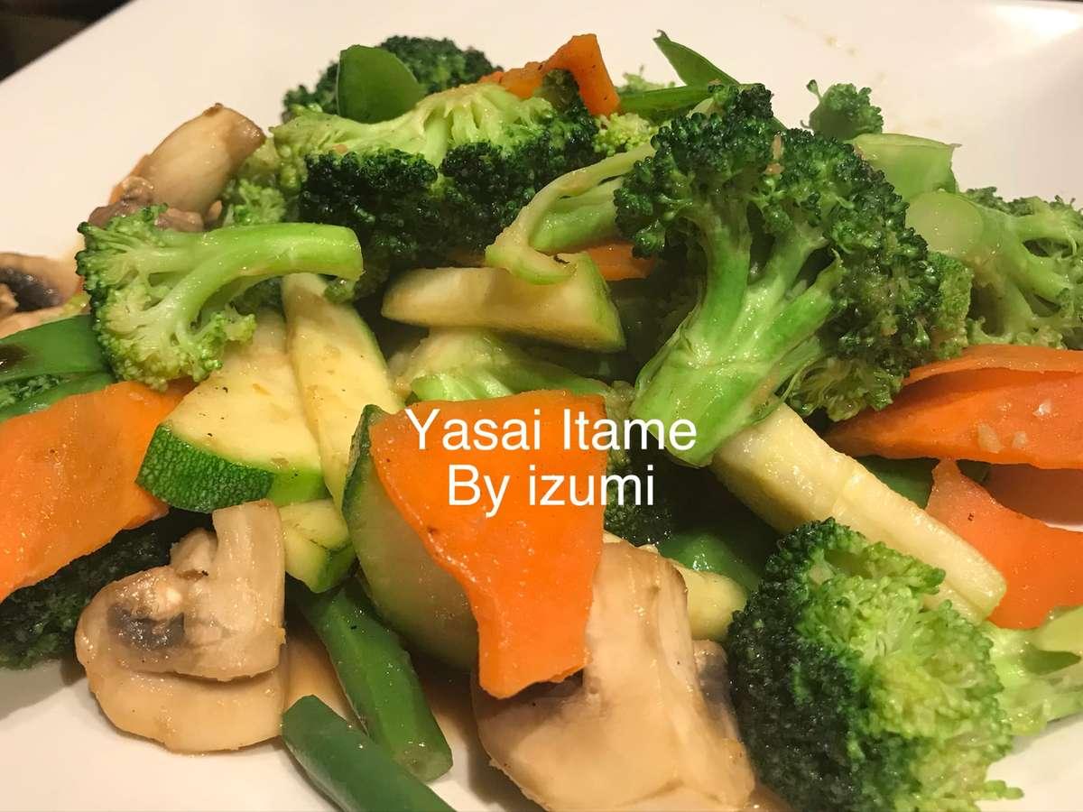 Lunch-Yasai Itame