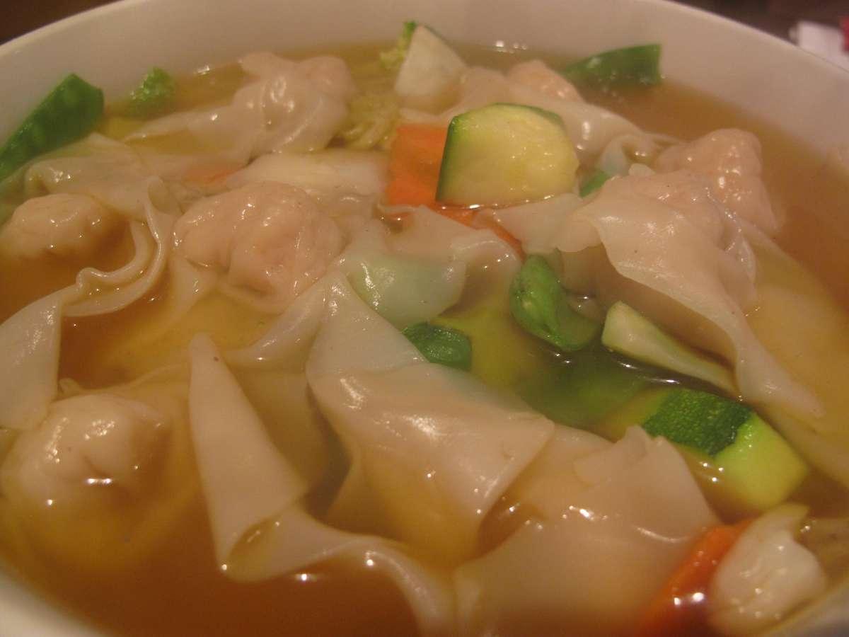 Wonton & Noodle Soup