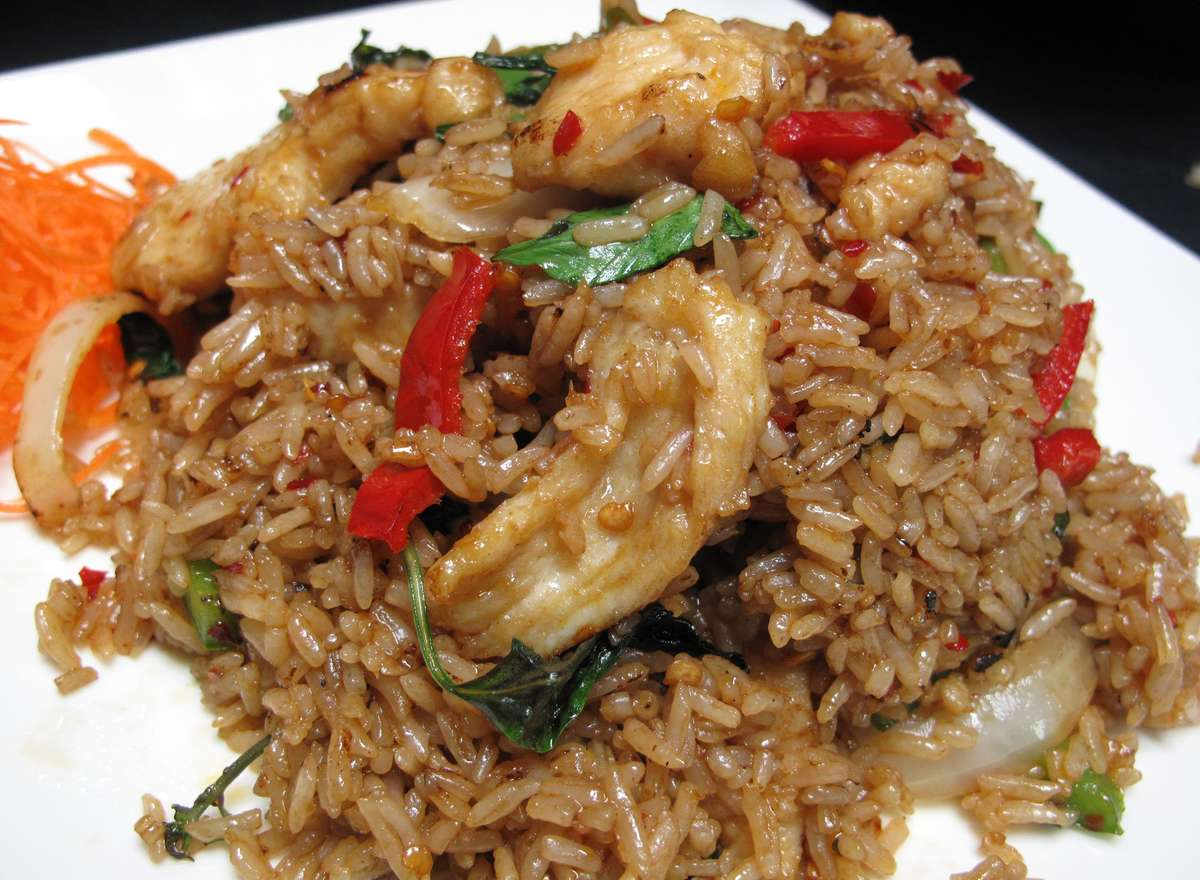 Thai Spicy Fried Rice