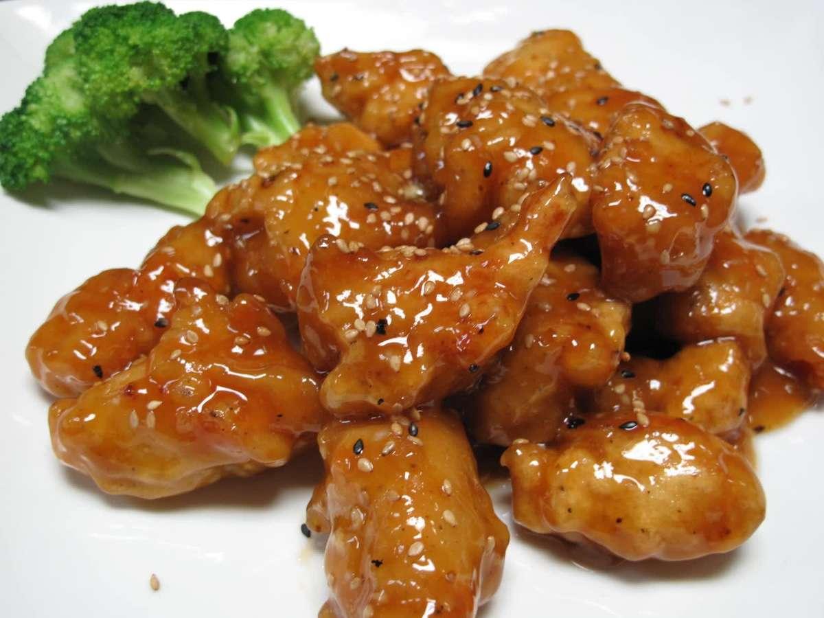 Lunch-Sesame Chicken
