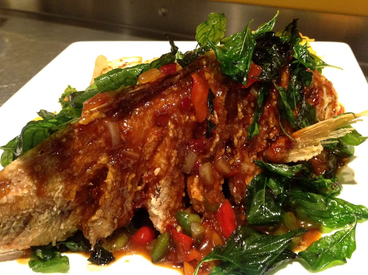 Cousin Thai Whole Red Snapper