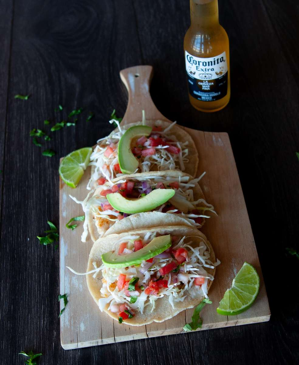 Lunch Fish Tacos