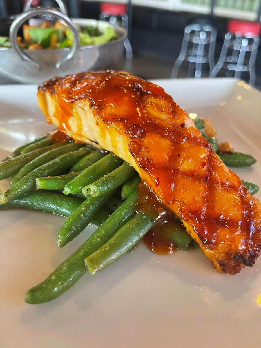 Suzuki Grilled Salmon