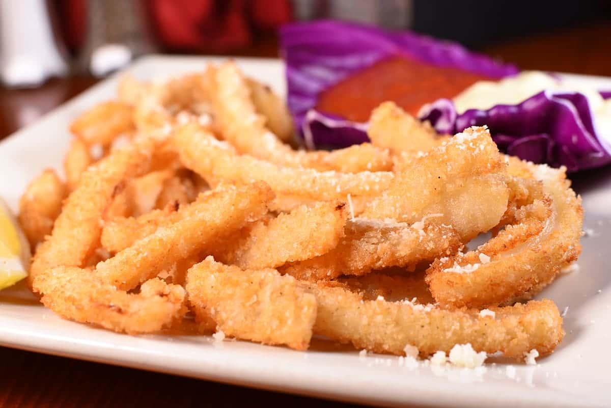 Calamari Strips & Chips