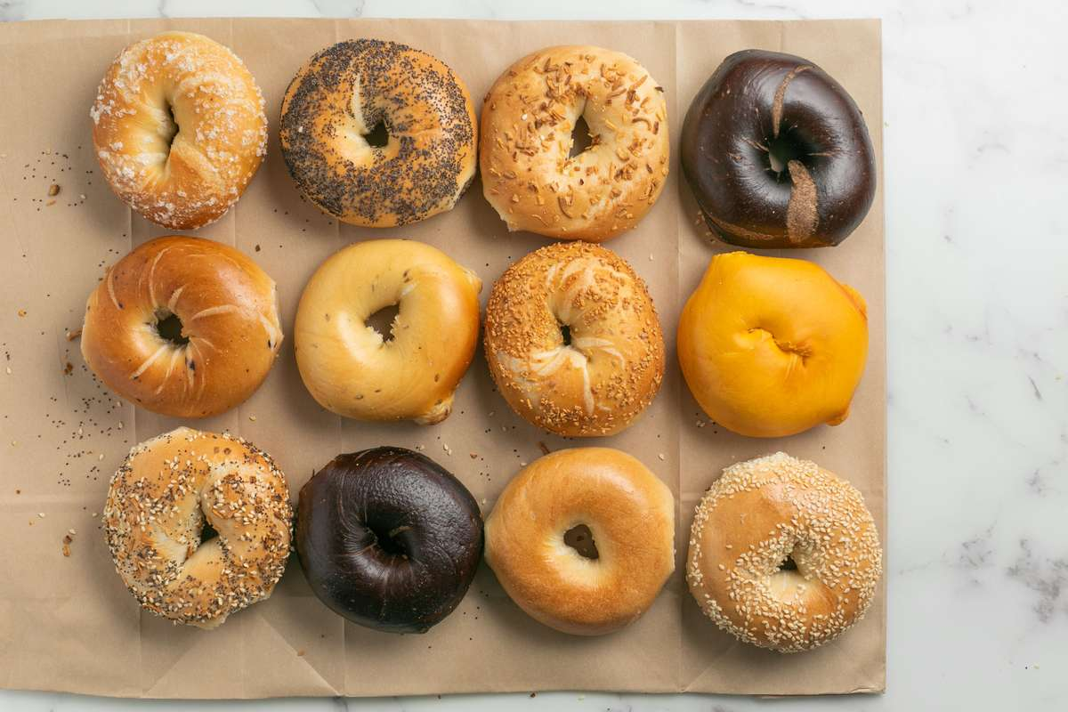 Bagel and Cream Cheese Platter
