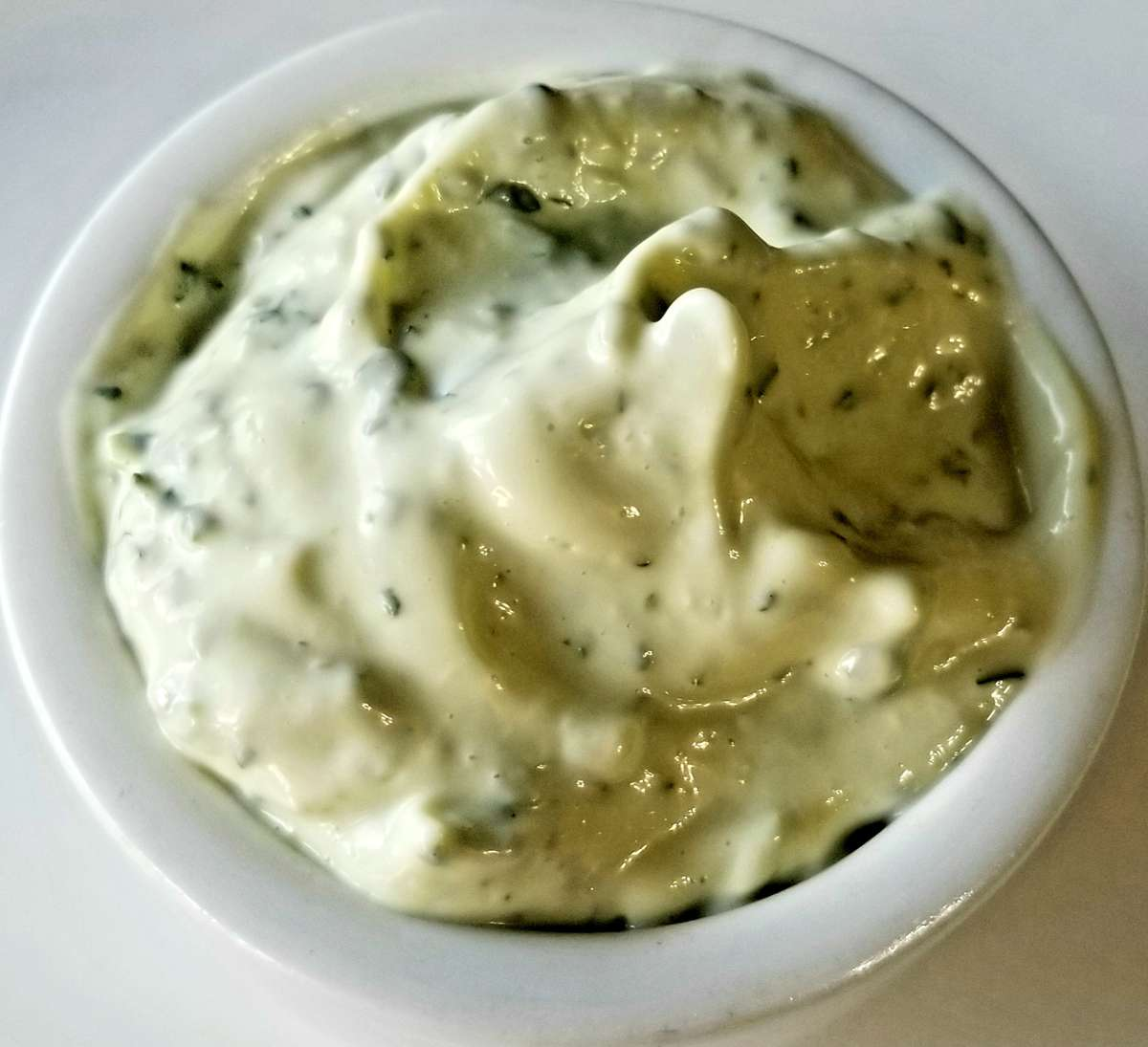 5 oz Jar Geo's Garlic Cilantro Aioli