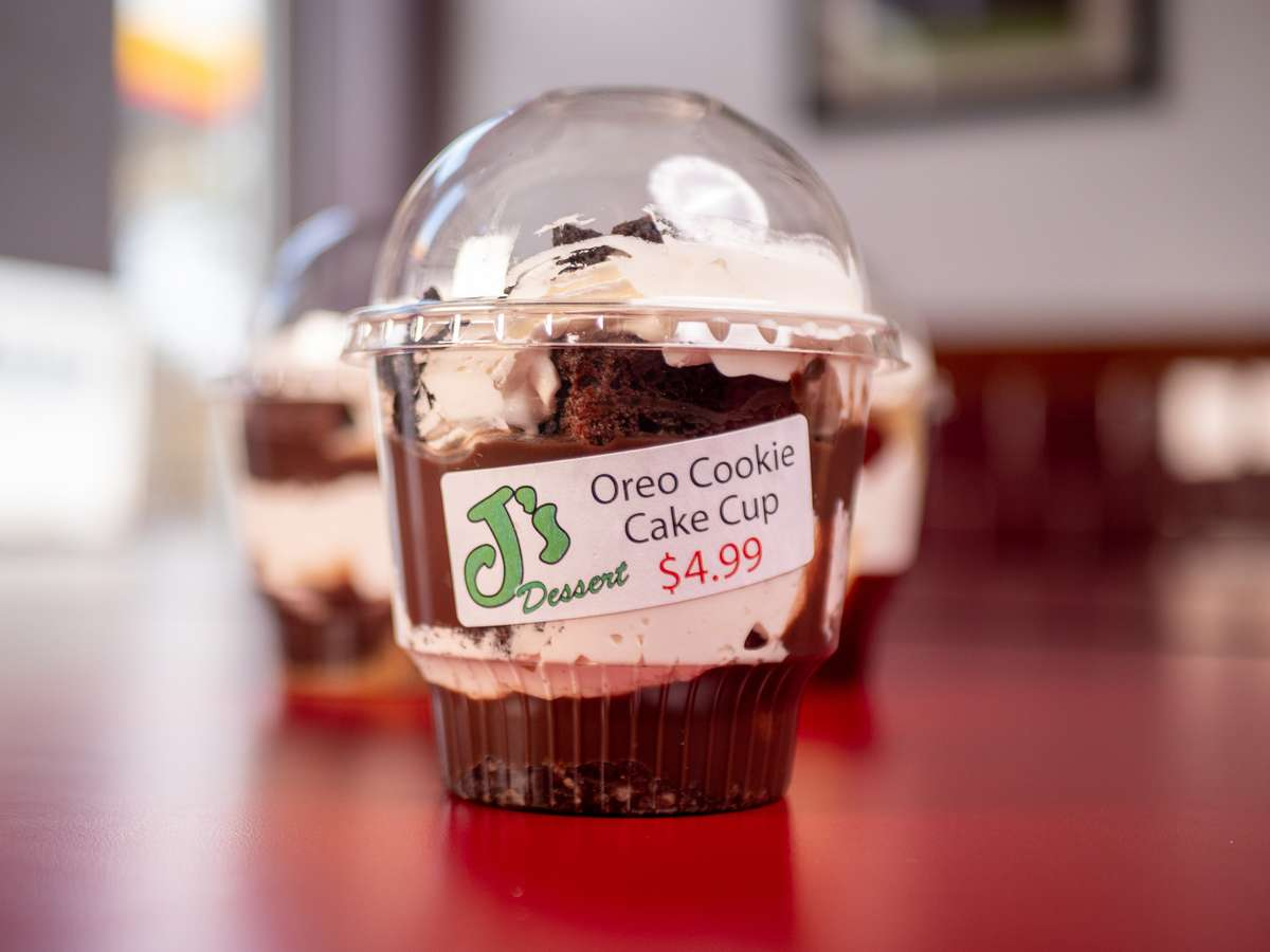 oreo cookie cake cup