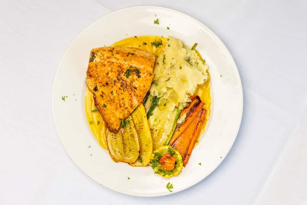 Salmon al' Arancio