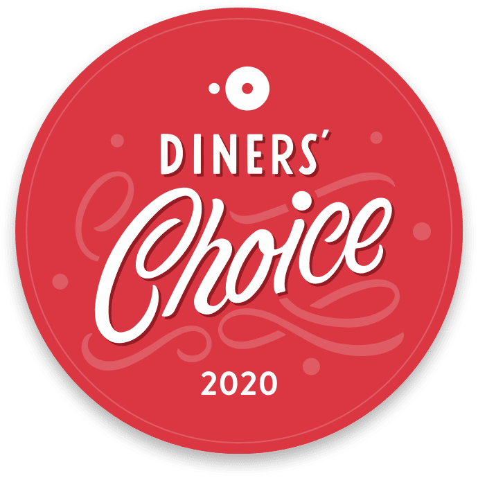 open table diner's choice 2020