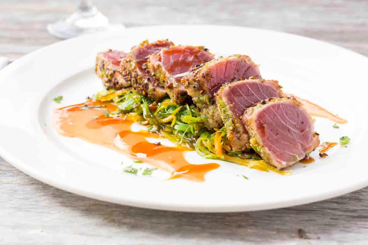 Wasabi Crusted Tuna