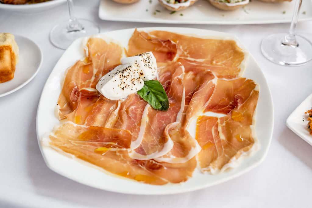San Daniele Prosciutto & Mozzarella di Bufala