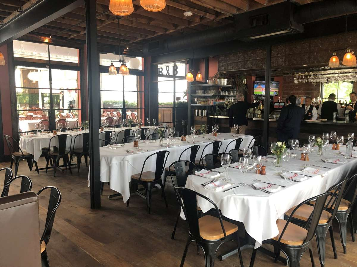 Upstairs Dining Room + Rooftop Patio