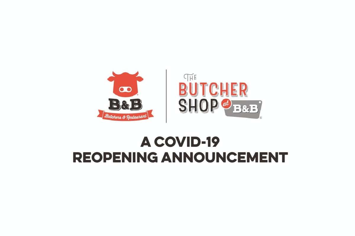 B&B Butchers & Restaurant Reopening - Houston